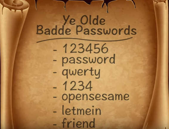 Passwords You Shouldn't Use