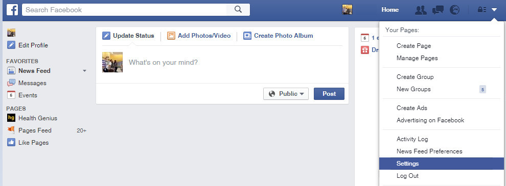 Check Facebook Apps (Settings)