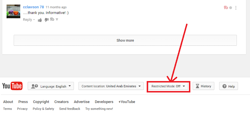 YouTube Parental Controls Set Up