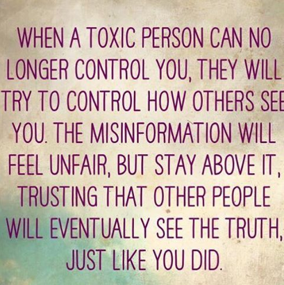 Bullying Quotes: When a Toxic Person Can No Longer Control You...