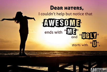 Bullying Quotes (Dear Haters)
