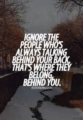 Bullying Quotes: Ignore Those Who Talk Behind Your Back