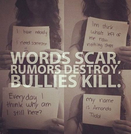 Bullying Quotes: Words Scar, Rumors Destroy, Bullies Kill