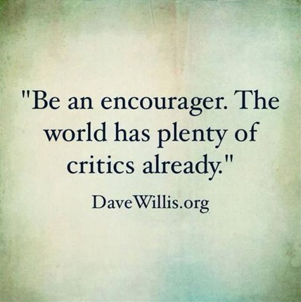 Be an Encourager (Anti-Bullying Quote)