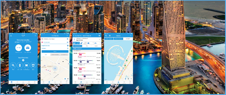 The New Shail App from RTA will take Care of all your Travel Needs in Dubai. It's Amazing!