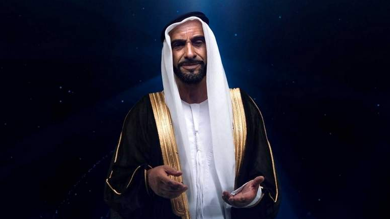 Now you can Watch a Real-life Video of Sheikh Zayed. Thanks to Advanced Animation