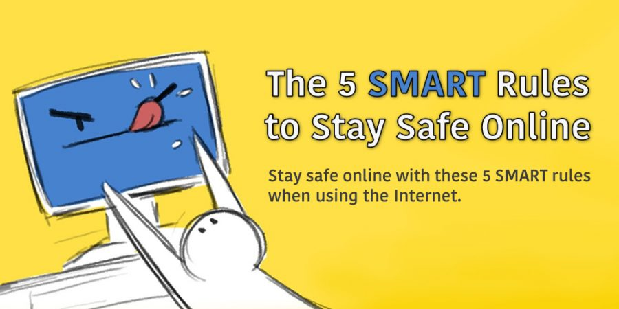 5 S.M.A.R.T. Rules to Stay Safe Online (Infographic)
