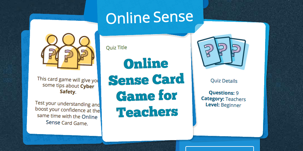 Card Game for Teachers