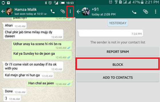 how to block someone on whatsapp iphone how to block on whatsapp sense 2819