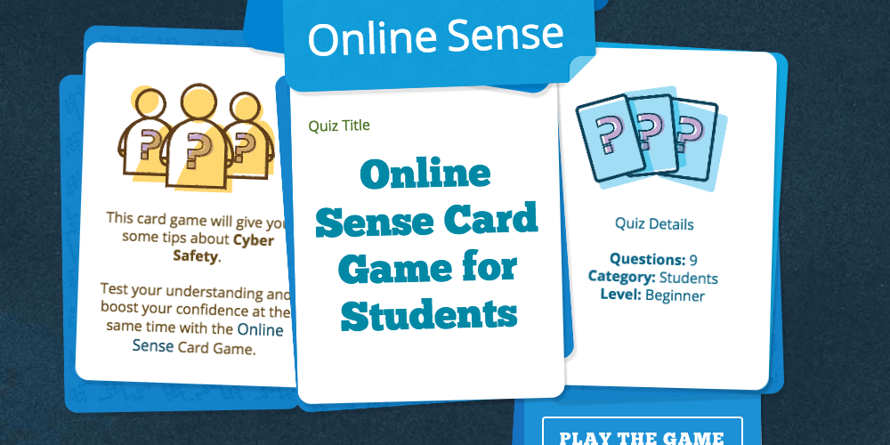 Card Game for Students