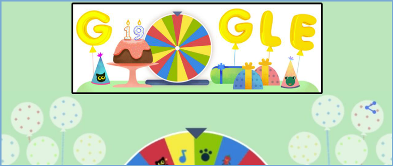 Here's your Gift on Google's 19th Birthday: Play the Best Google Doodles ever!